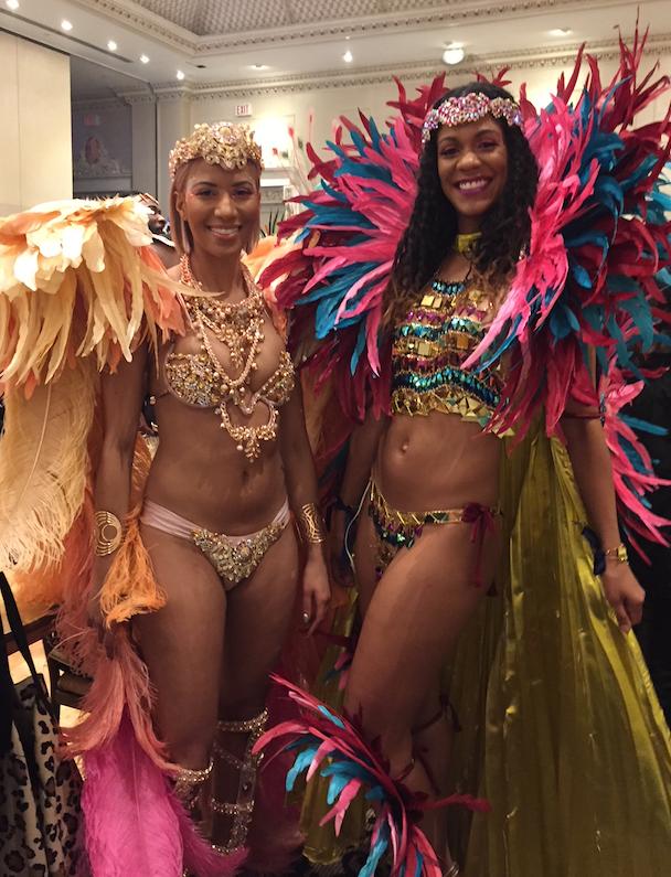 Mischka and Joella Crichton at the 2018 Carnival Nationz Band