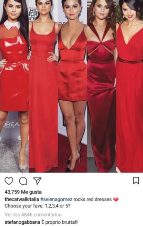 La elegante respuesta de Selena Gomez al insulto de Stefano