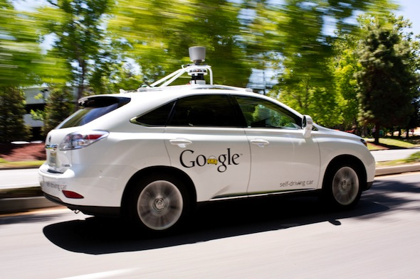 Google, Lexus, self driving car