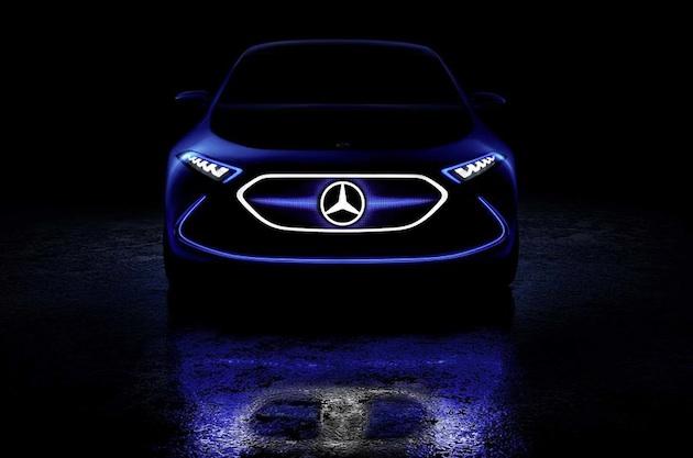 メルセデス・ベンツ、小型電気自動車のコンセプトカー「EQ A」をチラ見せ!