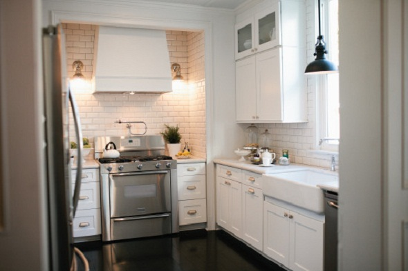 American Dream Builders colonial home kitchen