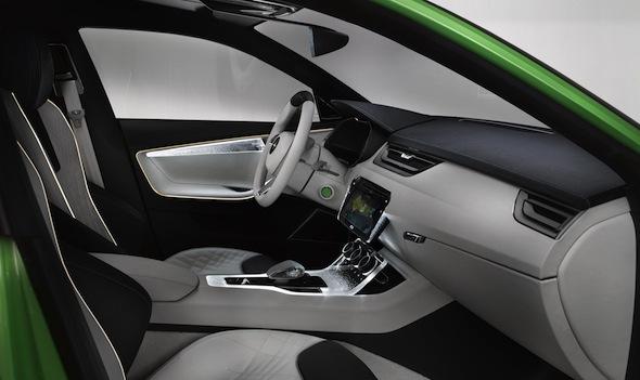 Skoda VisionC interior