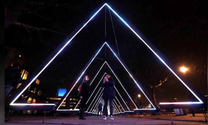 Bright Lights, Big City: Light Art Festival Takes To London's