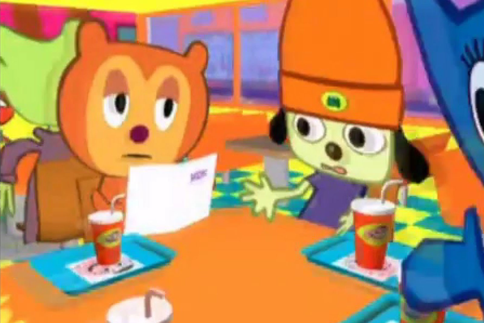 Parappa the rapper comes back as an anime series