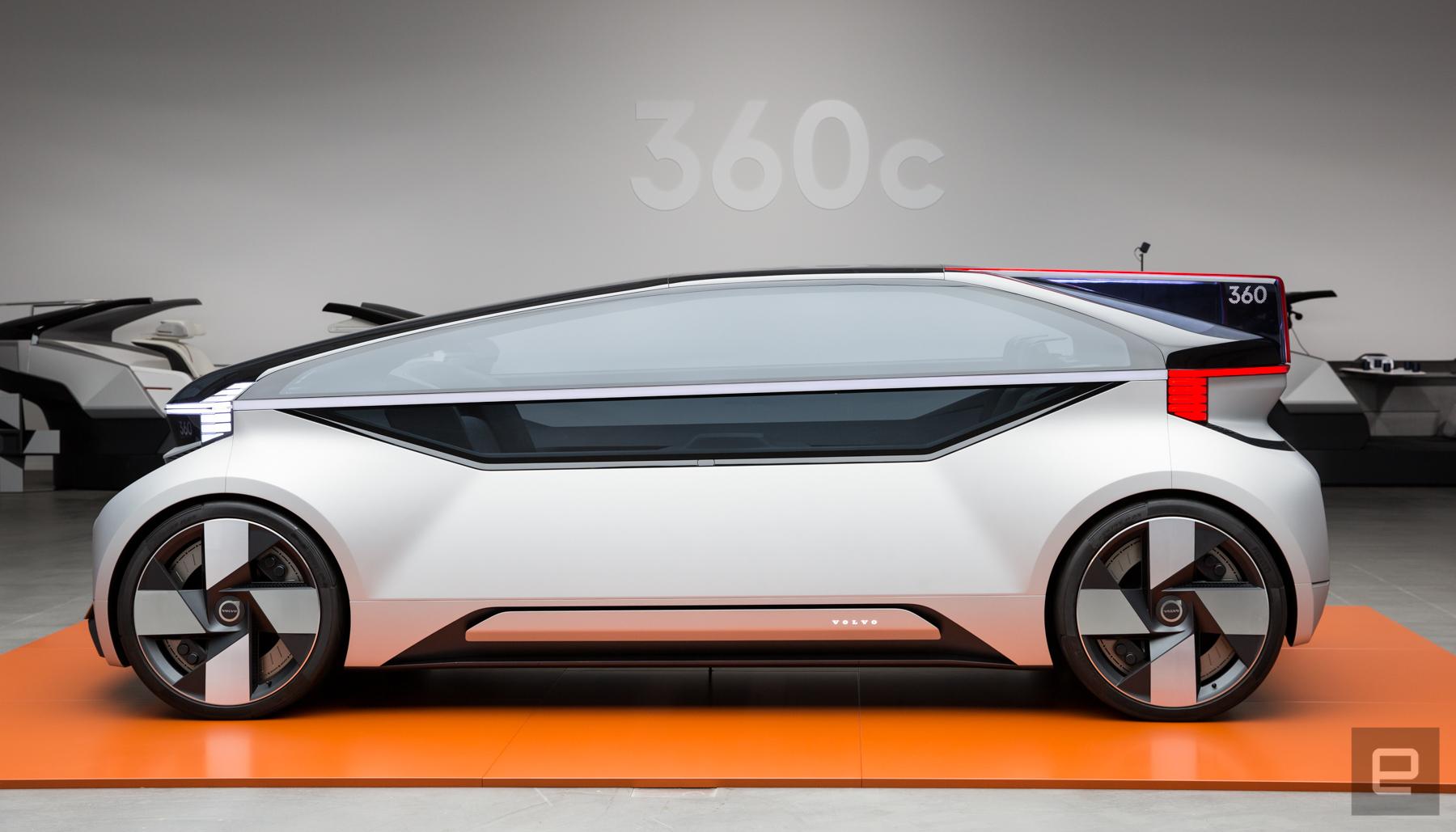 Volvo's Autonomous Concept Car Is About More Than