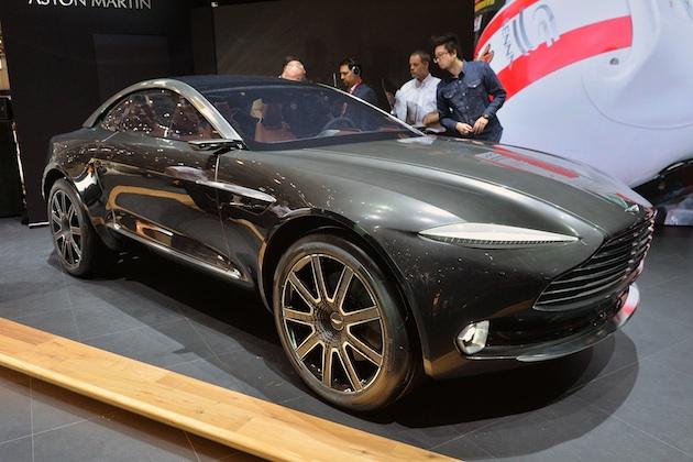 【ジュネーブ2015】アストンマーティンから、4輪駆動の電気自動車「DBXコンセプト」が登場!