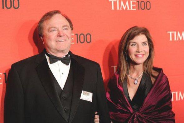 Harold Hamm and Sue Ann Arnall