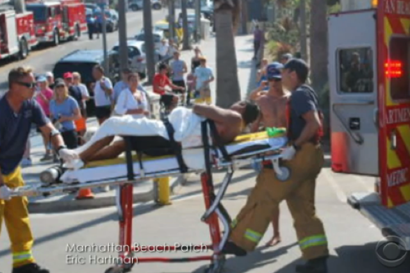 Swimmer attacked by great white shark at California beach