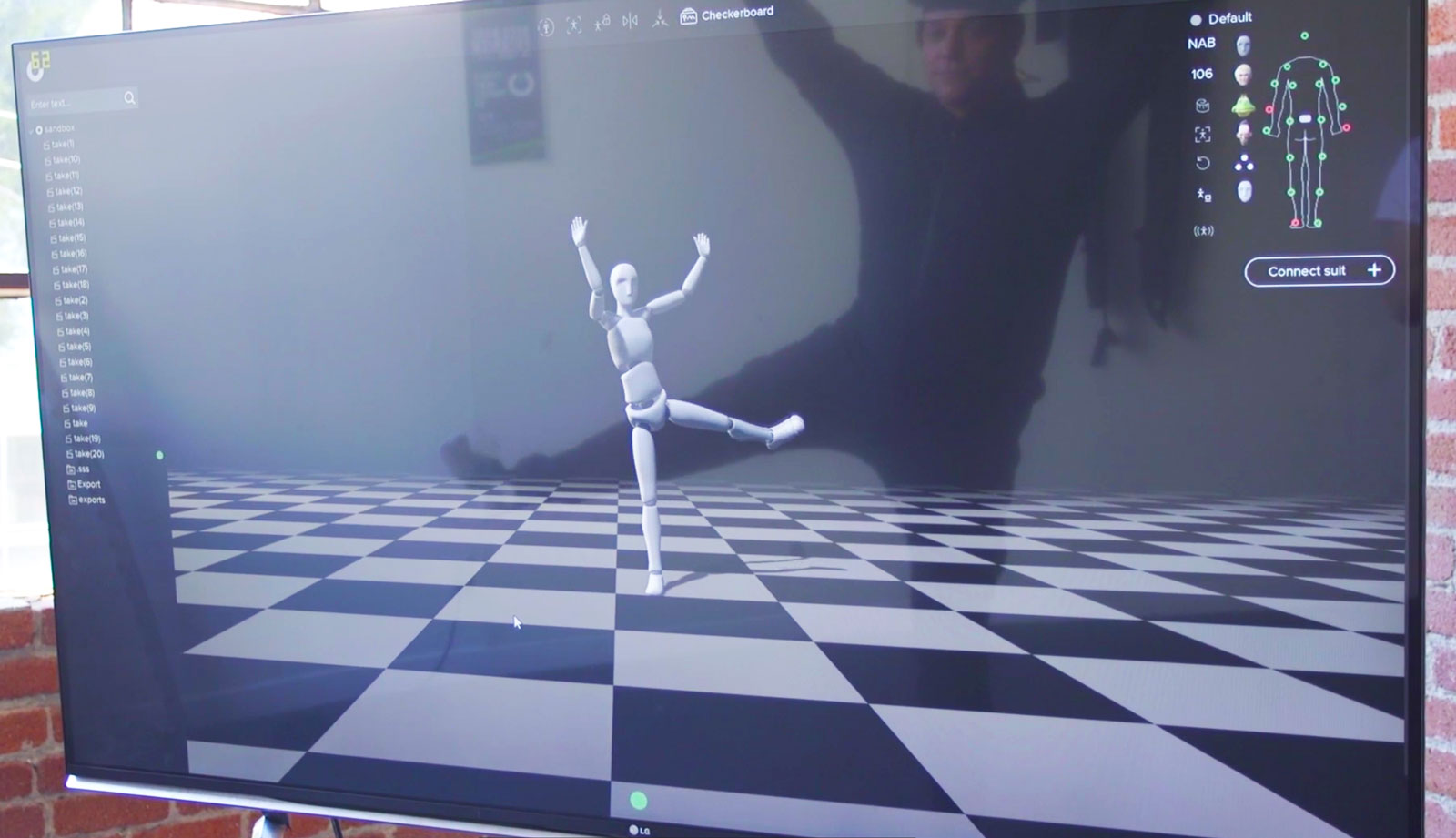 This mocap suit records Hollywood-quality animation at indie