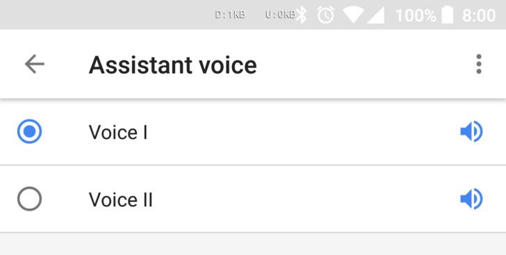 El asistente de Google ya tiene voz de hombre