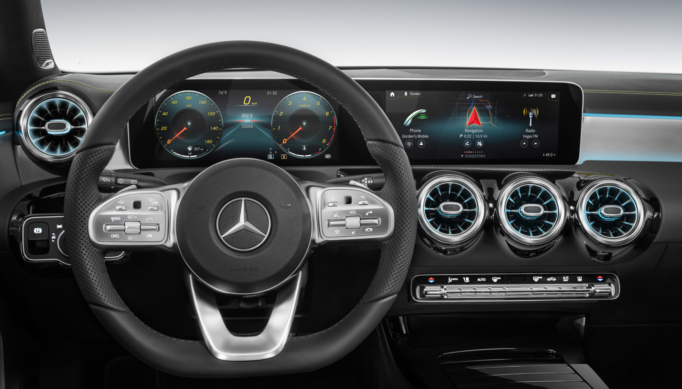 Mercedes goes all in with in-car natural-language control