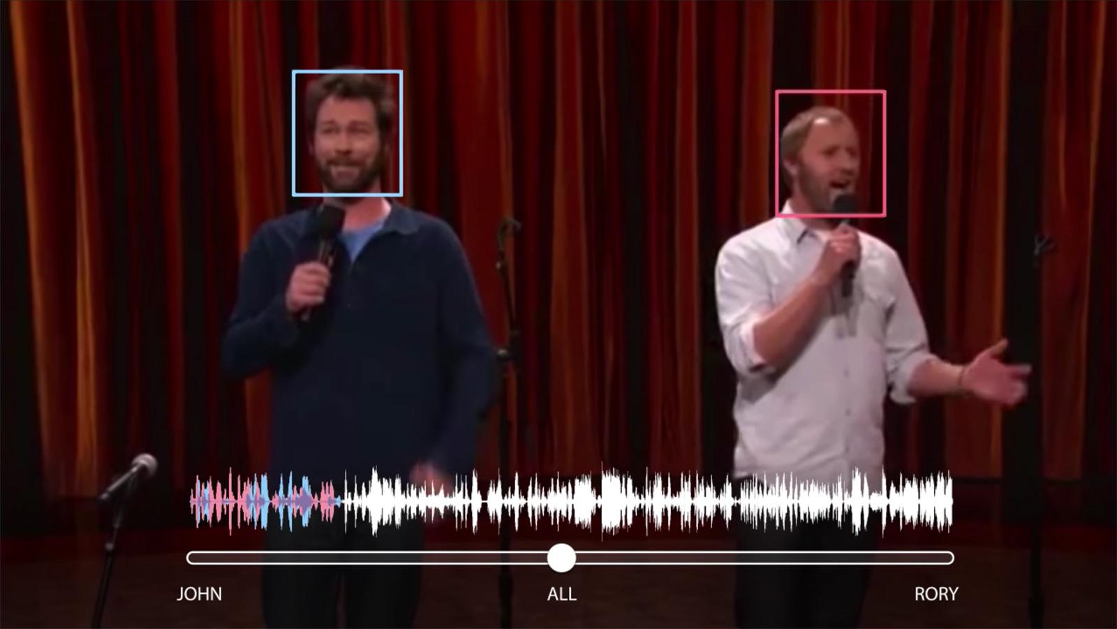 谷歌的新 AI 技术可以将两个同时在说话的人声分离出来