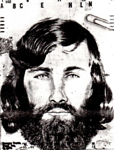 Cartel de 'Se busca' con el rostro de Michael Bear