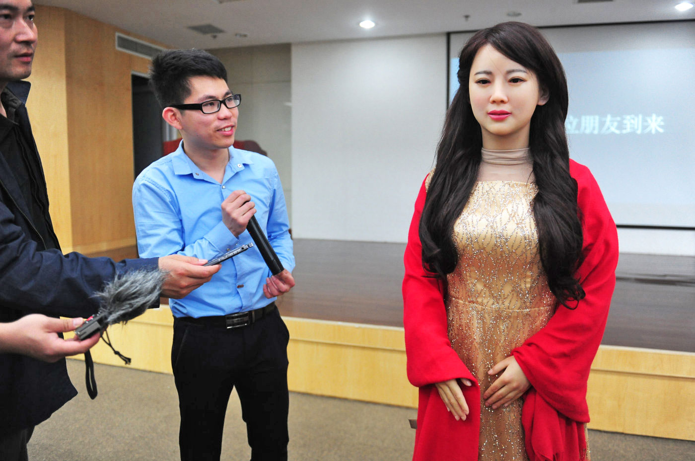 chinas realistic robot jia jia can chat with real humans