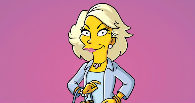 joan rivers the simpsons