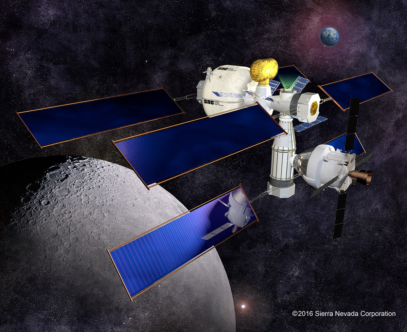 astronaut space habitat - photo #17