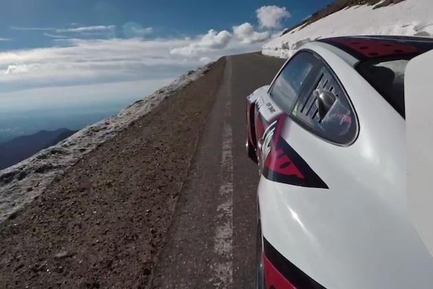 【4Kビデオ】これは必見! ジェフ・ツワートがポルシェでパイクスピークを駆け上る走行映像!