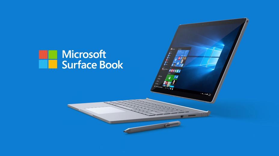 微软发布 Surface Book 平板/笔电二合一设备