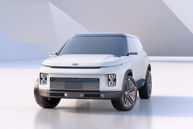 吉利汽車、ボルボ「XC40」のプラットフォームを使った「コンセプト アイコン」を発表!