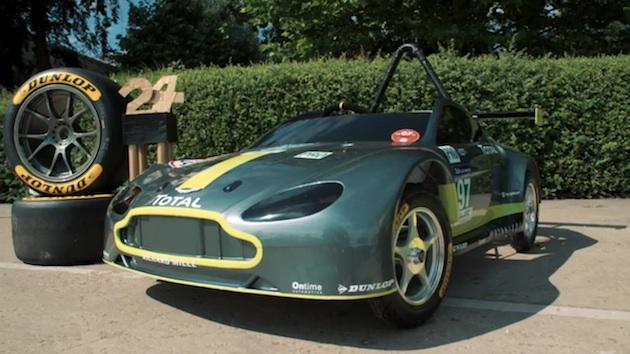 【ビデオ】アストンマーティンから、排気ゼロの新型レースカー「AMR-SB」が誕生...!?
