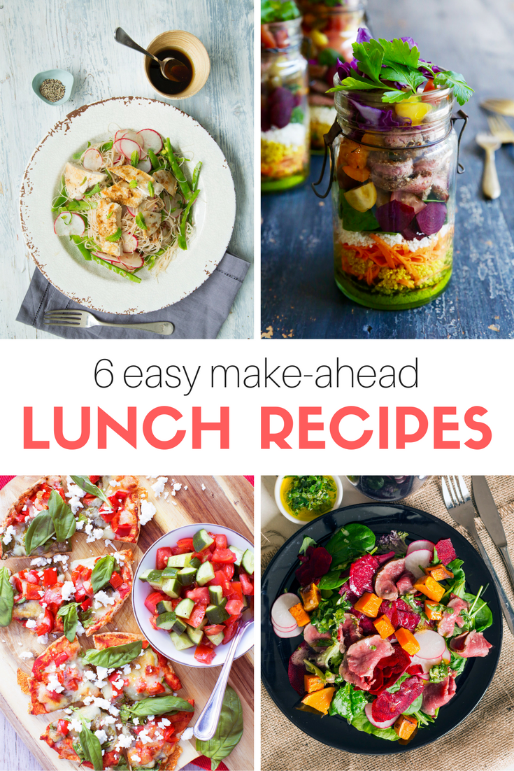 Here Are 6 Easy, Quick Lunches You Can Make The Night