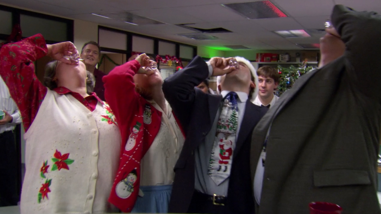 Get Turned Up for the Holidays With the Biggest Office Christmas Party Ever