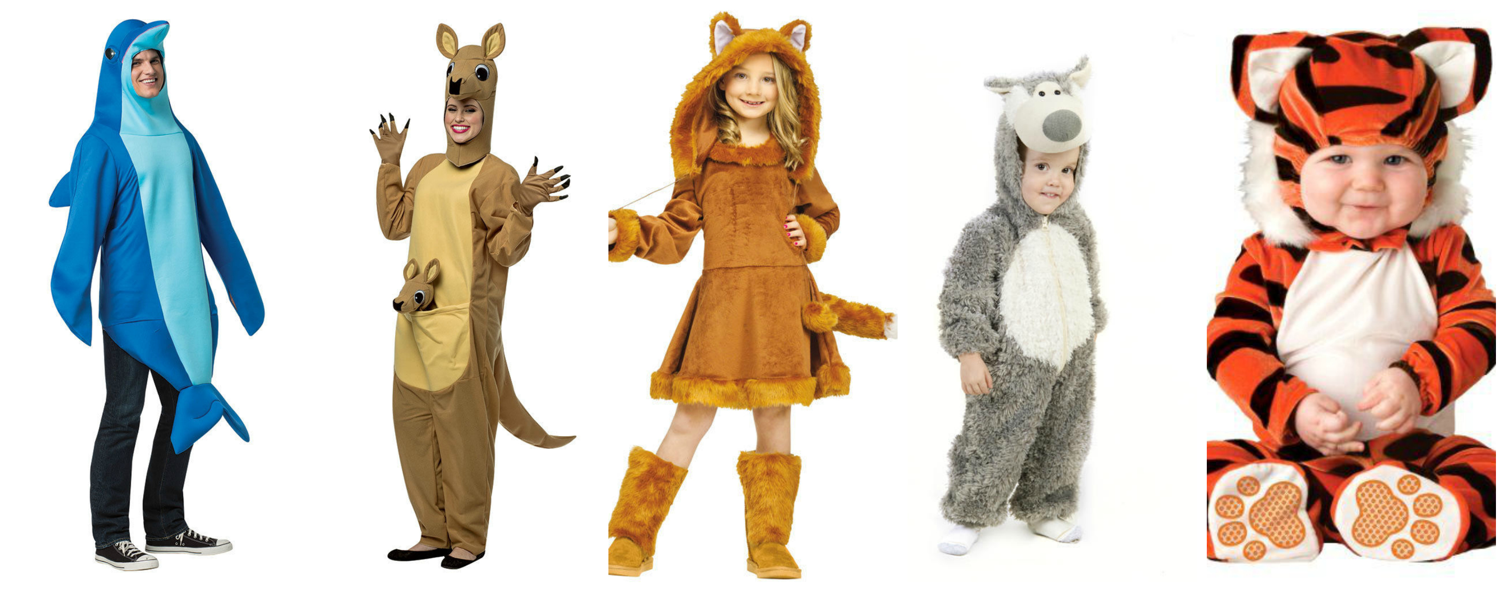 Wild Animal Family Halloween Costume Idea