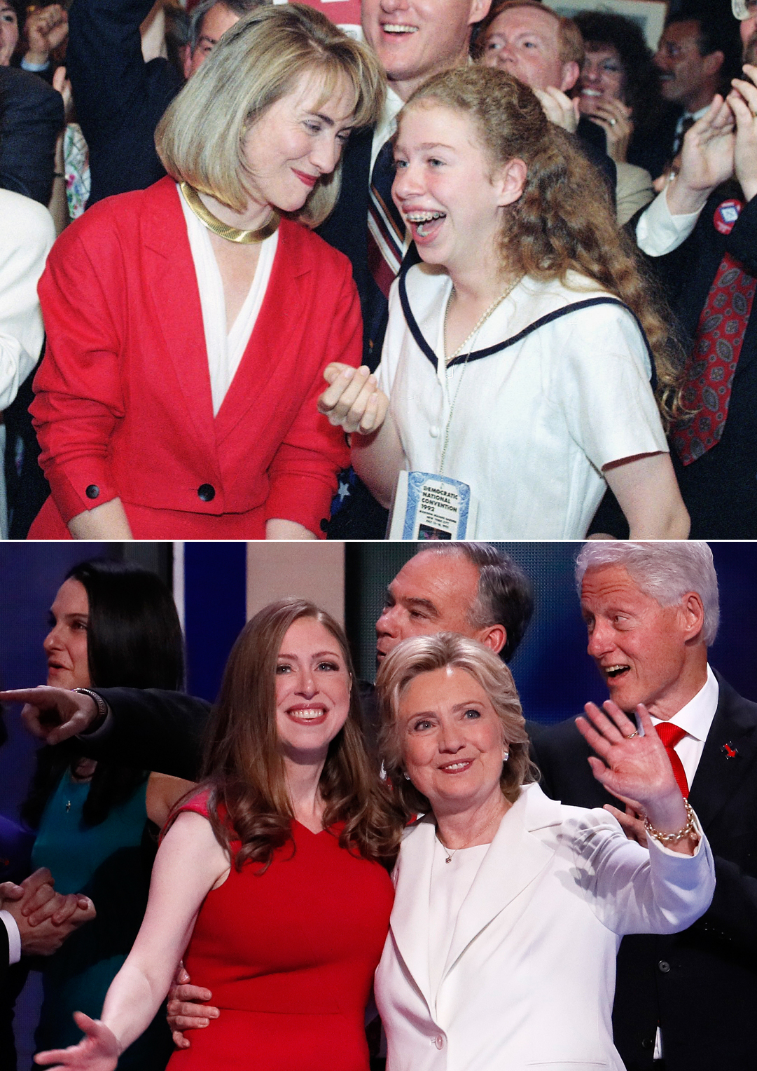 Chelsea linton weddings chelsealintonweddings com read more http -  With Hillary Sporting A White Pantsuit For Her Speech On Thursday And Chelsea In The Red Dress Clearly The Mother Daughter Duo Talk To Each Other About