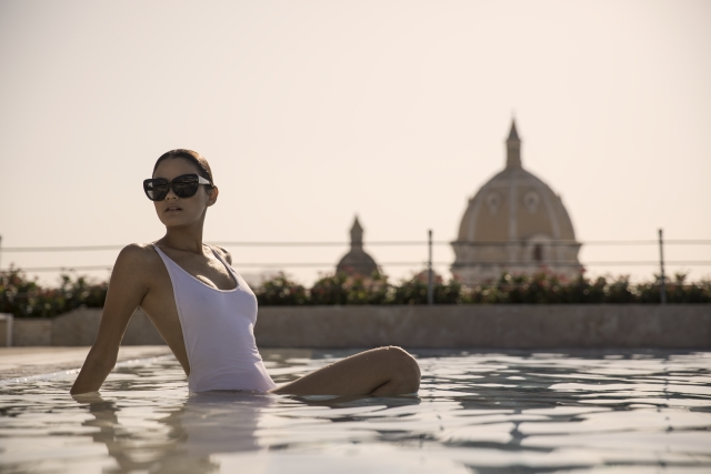 Hotel Charleston Santa Teresa rooftop pool