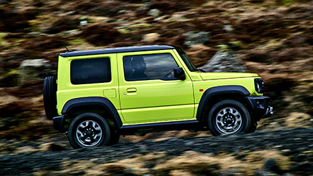 2019 suzuki jimny road test review autoblog. Black Bedroom Furniture Sets. Home Design Ideas