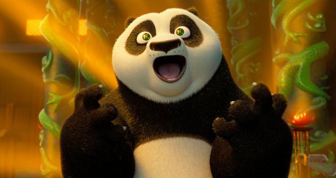 kung fu panda 3 po jack black