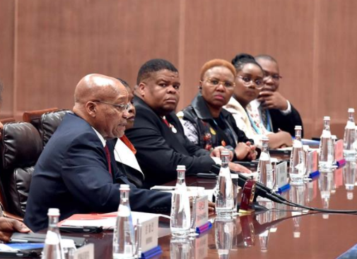 At a bilateral between South Africa and China on the sidelines of the BRICS summit on 4 September