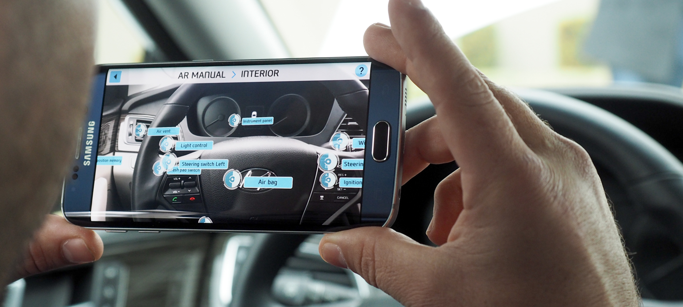 Hyundai wants to replace the owner\'s manual with AR