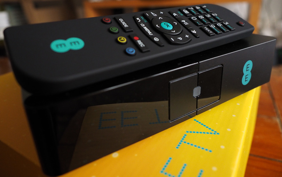 EE TV review: a decent set-top box with too many strings