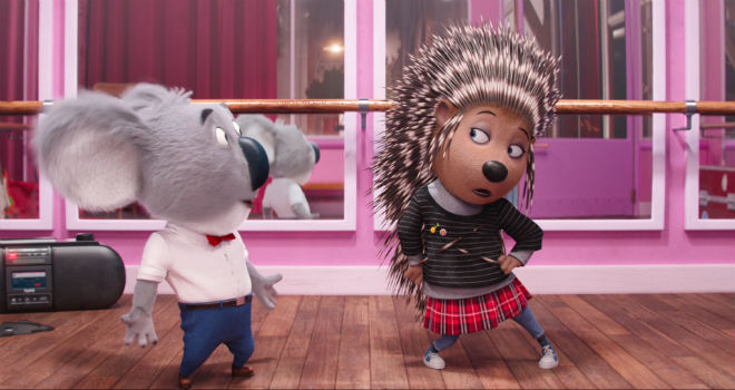 Sing Exclusive Clip This Punk Rock Porcupine Isn T