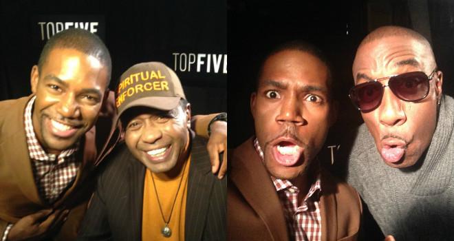 Top Five Vereen JB Smoove Interview