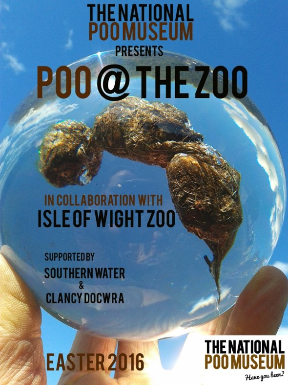 Isle of Wight Zoo opens the National Poo Museum