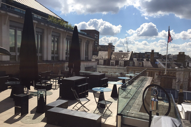 Sky Terrace at Courthouse Hotel