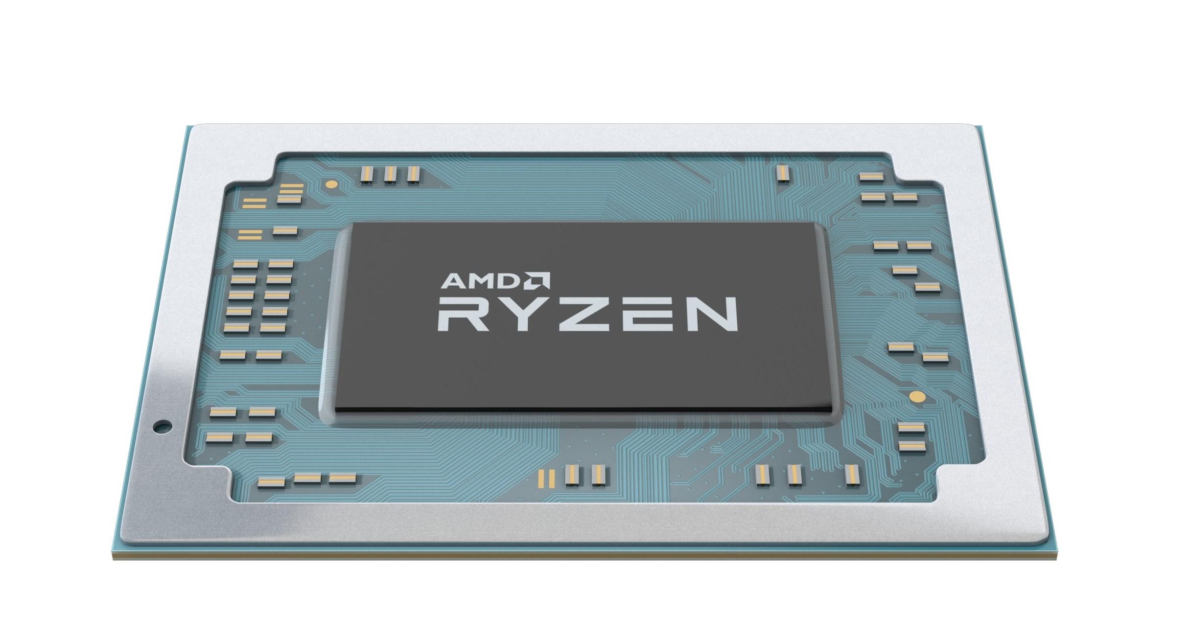 Amd Stuffs Radeon Vega Graphics Into Its Ryzen Mobile Chips