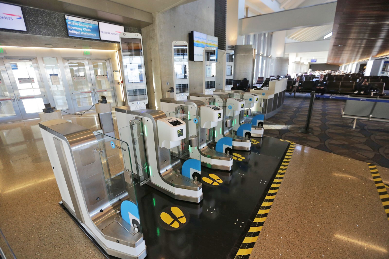 British Airways expands its biometric boarding gate trials