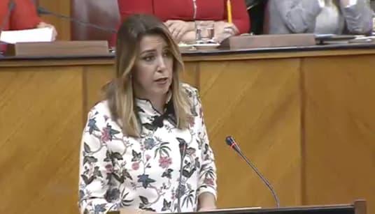 🔴En directo: Díaz reprocha a Moreno llegar a la Presidencia con los