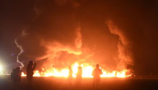Au moins 66 morts après l'incendie d'un oléoduc au
