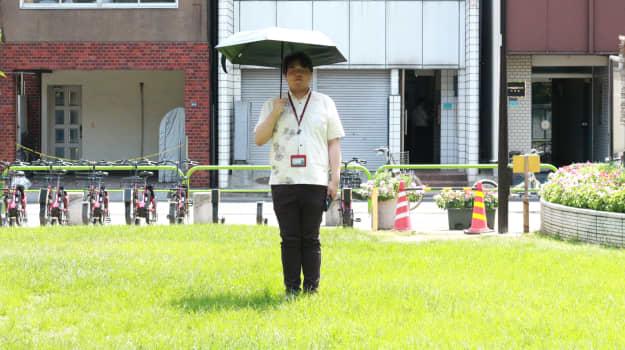 男も日傘の時代?
