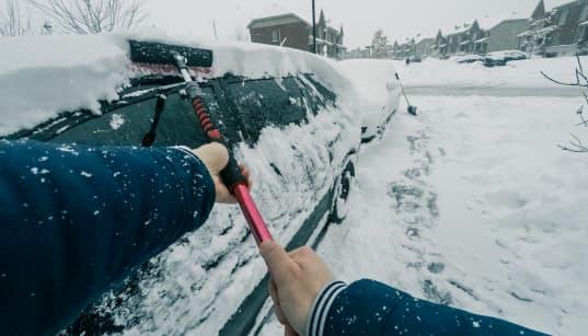 De la neige pour le Québec au grand