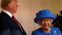 El sutil mensaje de la reina Isabel a Trump, ¿o solo