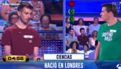 El concursante de verde fulmina a Arturo Valls con la mirada tras meter la pata en 'Ahora