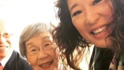Sandra Oh's Mom Made Every Asian Kid's Night AND Won The Emmy Red