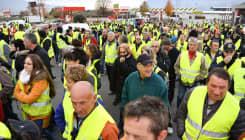 La mobilisation des gilets jaunes a commencé dès l'aube, 50.000 manifestants annonce