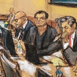 El Chapo se queda solo: Emma Coronel se ausenta de la