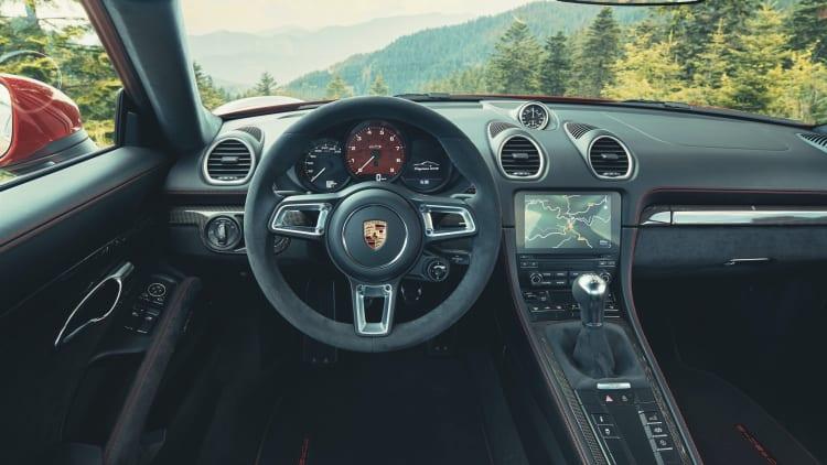2021 porsche 718 cayman and boxster gts 4 0 revealed autoblog autoblog